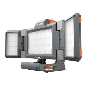 RIDGID 18V Hybrid LED Folding Light Panel