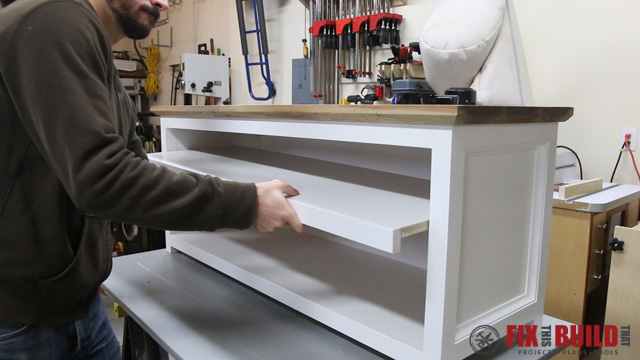 Foyer Bench With Shoe Storage Plans : Diy entryway shoe storage bench fixthisbuildthat