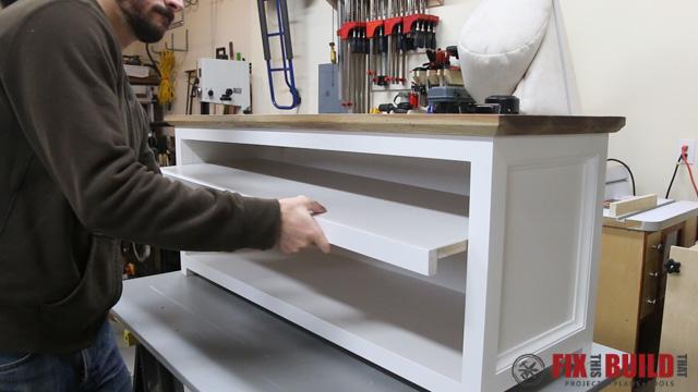 Diy Foyer Storage : Diy entryway shoe storage bench fixthisbuildthat