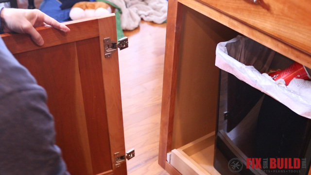 diy pull out trash can fixthisbuildthat rh fixthisbuildthat com
