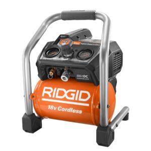 RIDGID 18v air compressor