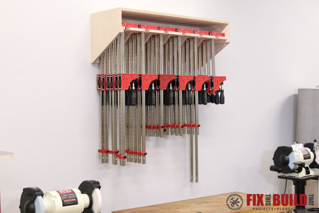 How To Build A Clamp Rack Fixthisbuildthat