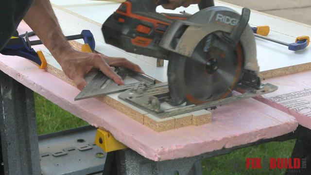ridgid circular saw cross cut