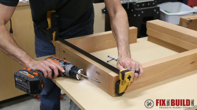 clamping sides with quick clamp