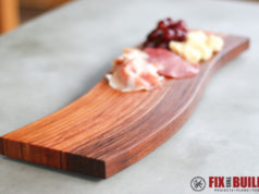 DIY Curved Cutting Board Bent Lamination