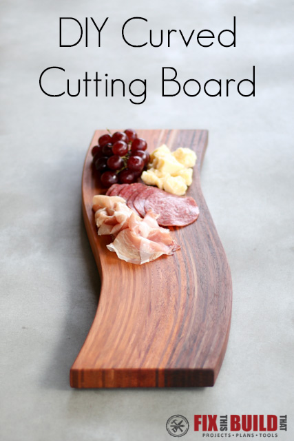 How to Make a DIY Curved Cutting Board with Bent Lamination
