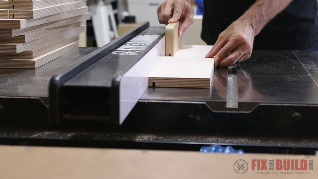 how to cut a drawer bottom