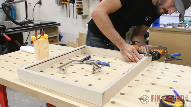 'How to Build a Cabinet Pull Out Tray' from the web at 'http://fixthisbuildthat.com/wp-content/uploads/2017/09/How-to-Build-a-Base-Cabinet-18.jpg'