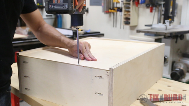 How To Build Base Cabinet Drawers