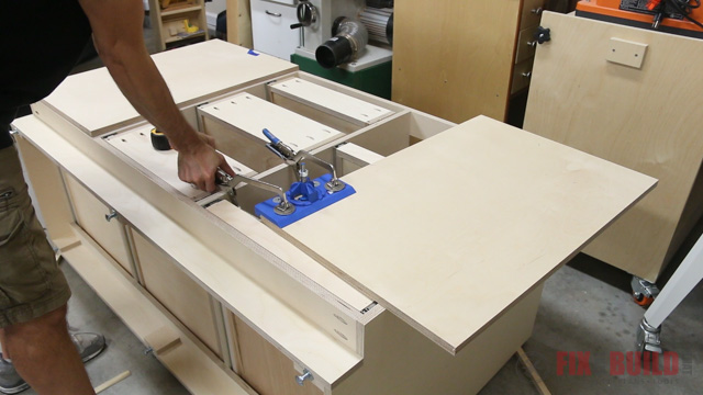 'how to mount concealed hinges' from the web at 'http://fixthisbuildthat.com/wp-content/uploads/2017/09/How-to-Build-a-Base-Cabinet-35.jpg'