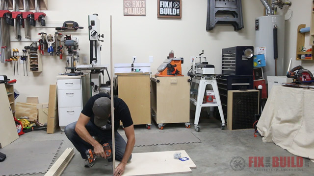 How to Build a Base Cabinet carcass