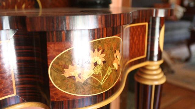 Create a Newport Tea Table with Alf Sharp