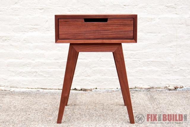 Modern DIY End Table