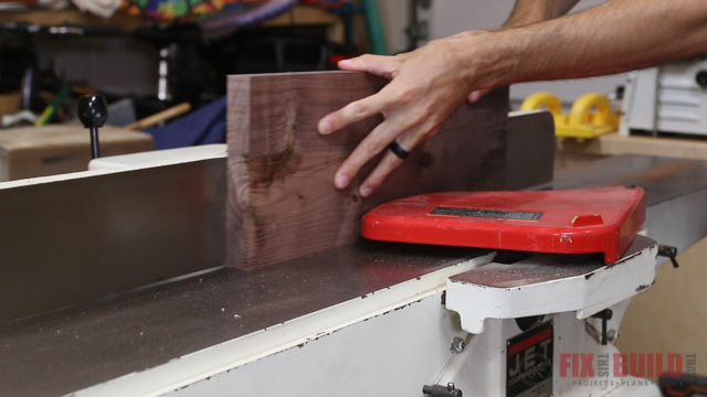 jointing an edge on a board