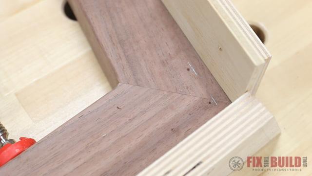 dowel holes layout