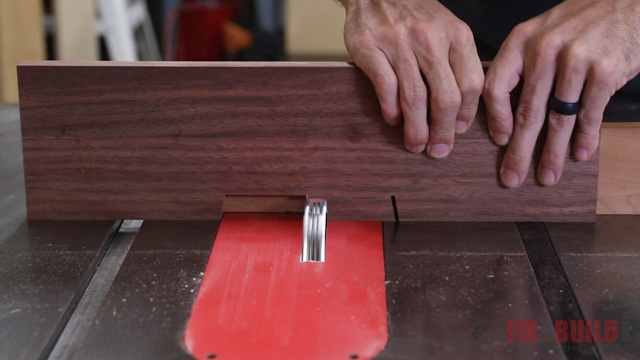 using dado on tablesaw to remove material