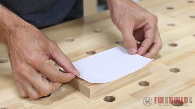 wood print with polycrylic