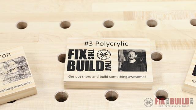 wood printing with polyurethane