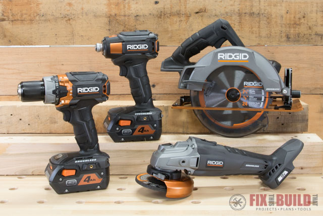 RIDGID 18v Gen5x Black Limited Edition Giveaway