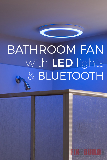 how to install bathroom fan with led and bluetooth speakers - Bluetooth Bathroom Fan