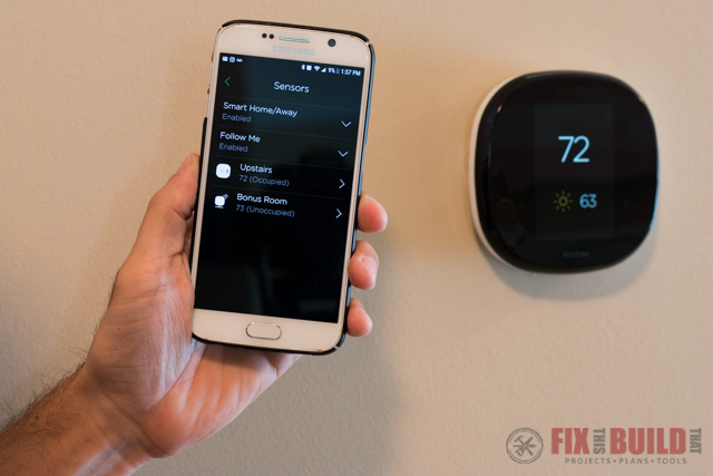 Smart Thermostat Install and Setup - Ecobee4 | FixThisBuildThat