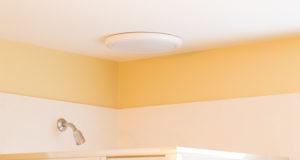 new bathroom fan with LED light