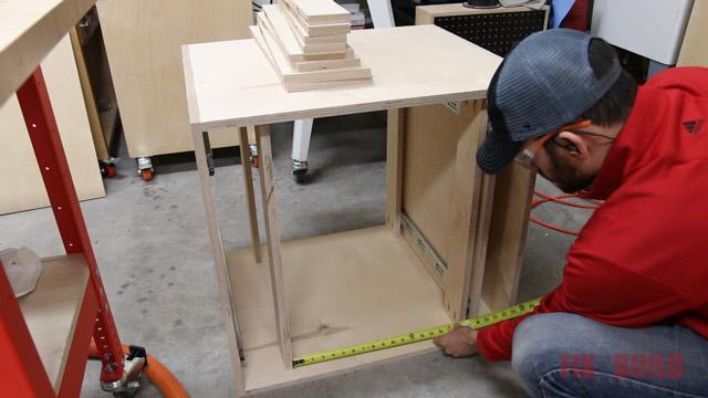 measuring for drawer installation