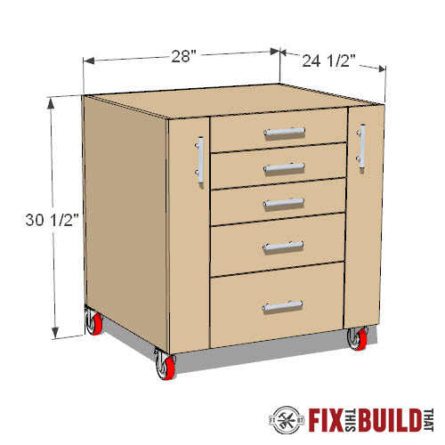 table saw cabinet plans