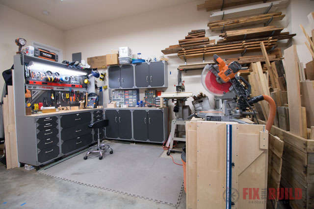 Home Woodshop Tour for Woodworking 2018