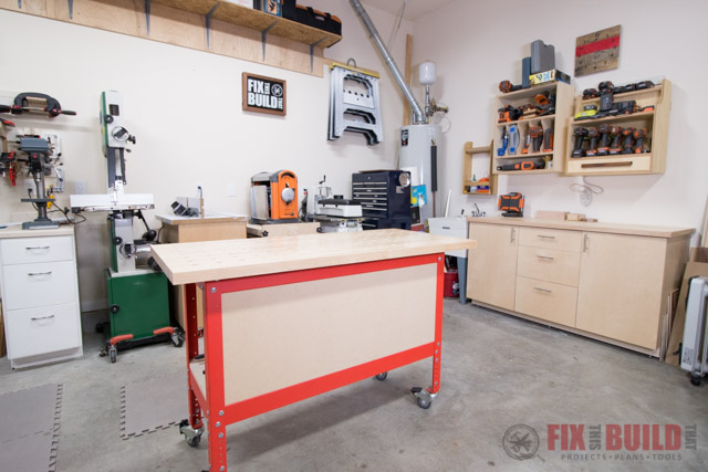 Home Woodworking Shop Tour 2018