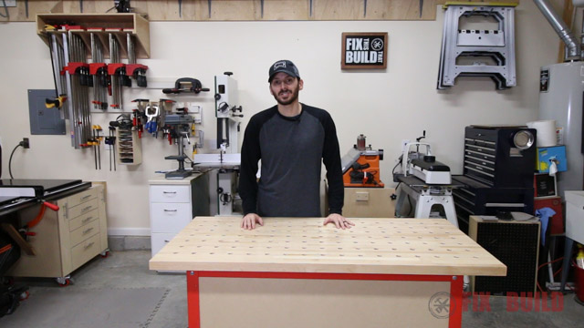 armor tool clamping table workbench