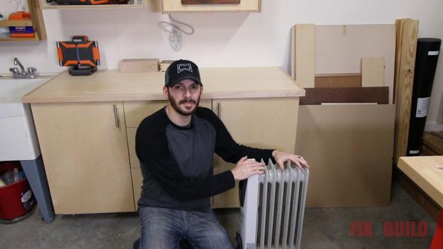 workshop heating options