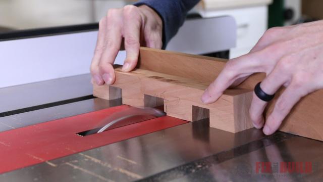 cutting notches with a dado blade