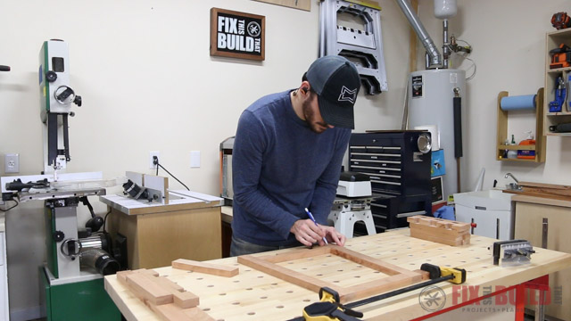 how to lay out dowel joints