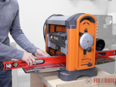 How to Use a Planer Setup Maintenance Align