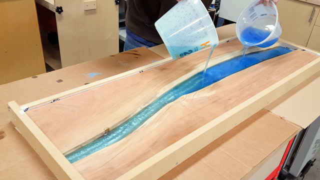 DIY Epoxy River Table with Waterfall | FixThisBuildThat