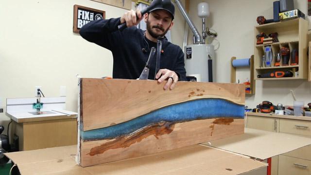 epoxy river table release