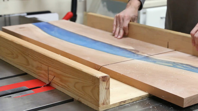 Diy waterfall epoxy river table fixthisbuildthat for Diy river table