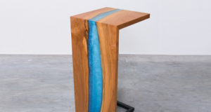 waterfall epoxy river table how to