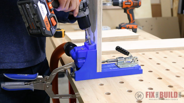 Making Drawers with Kreg Jig