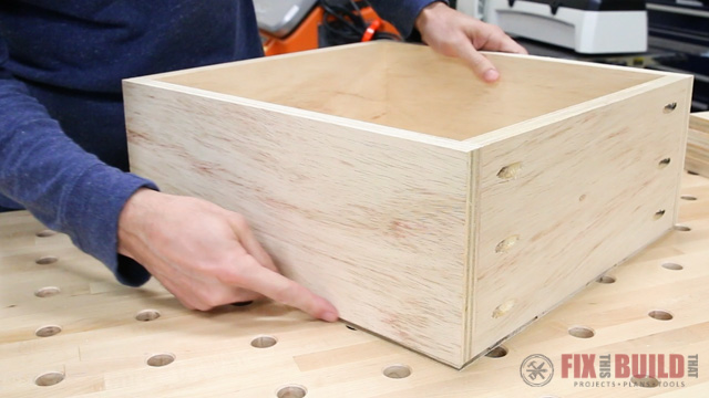 Hiding a drawer bottom
