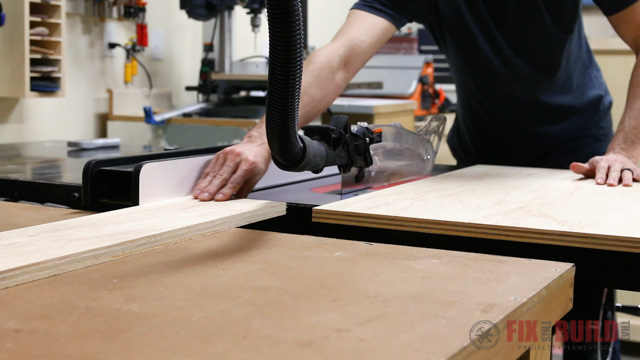 Cutting drawers to size