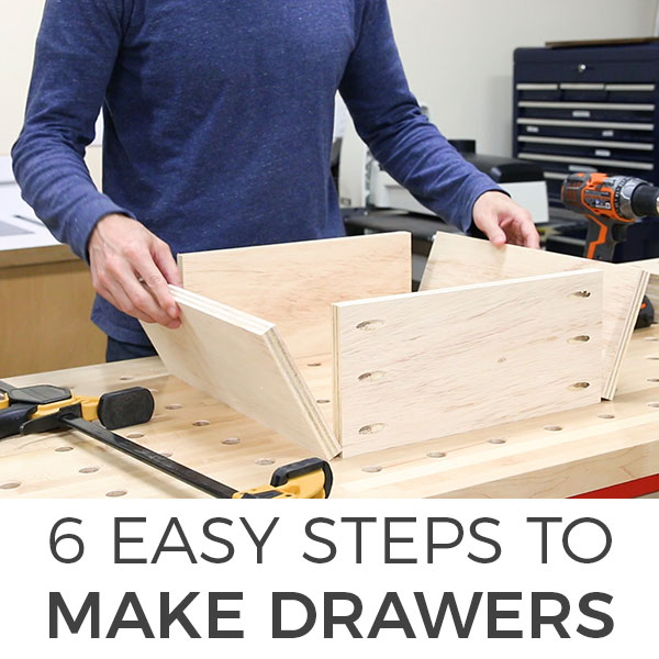 How to Make Drawers DIY