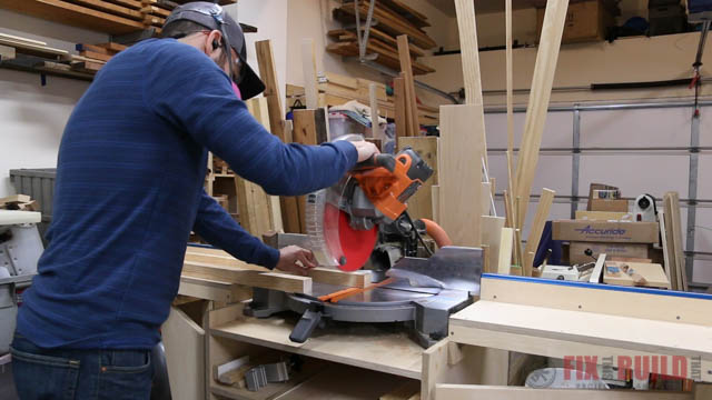 miter saw stand diy