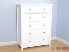 DIY Dresser How to Build