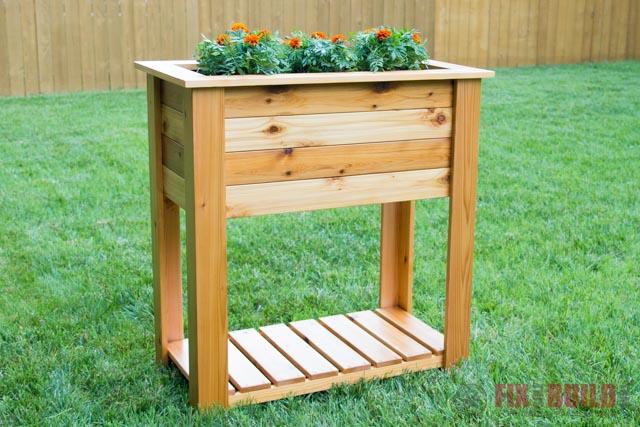Diy Raised Planter Box Fixthisbuildthat