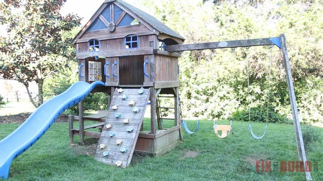How To Remove Paint From A Cedar Swing