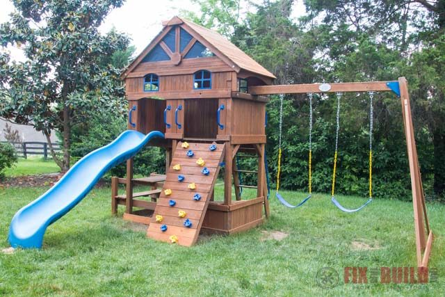 Playset Restoration DIY
