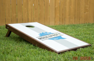 DIY Cornhole Boards