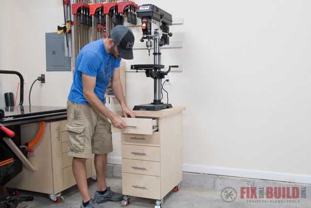 Diy Drill Press Stand With Storage Fixthisbuildthat